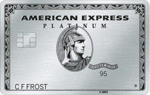American Express platinum credit card