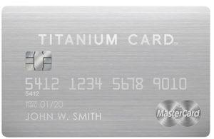 Luxury card titanium metal credit card