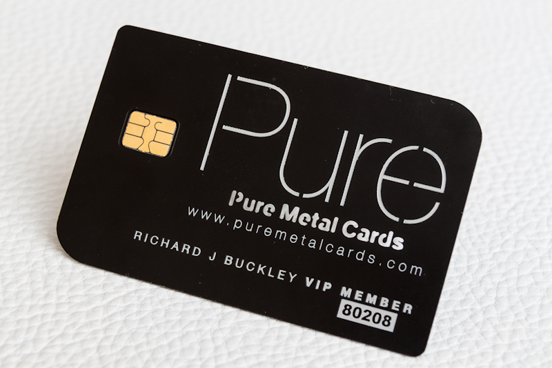 Making a Memorable Metal VIP or Membership Card