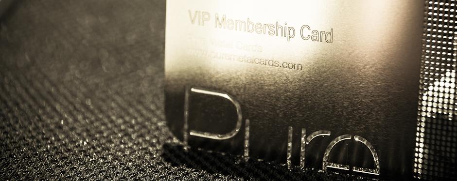 Making a memorable metal vip or membership card puremetalcardsvipsteelbusinesscard2011100193832 colourmoves