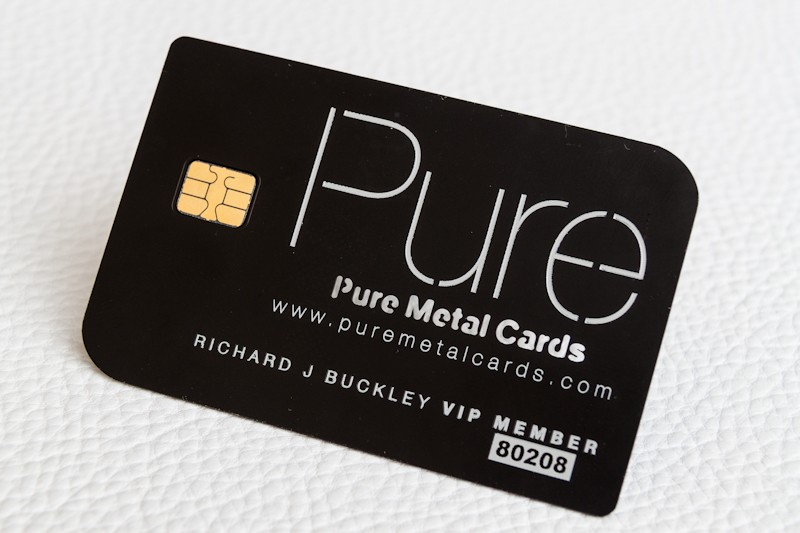 Making A Distinctive Metal VIP Or Membership Cards  Membership Card Design