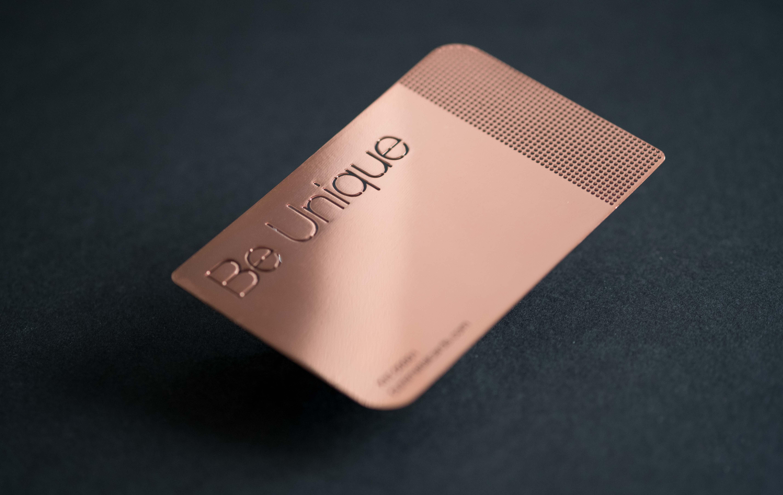 Copper Mirror Cards