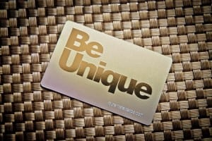 Pure Metal Cards Brass Prism