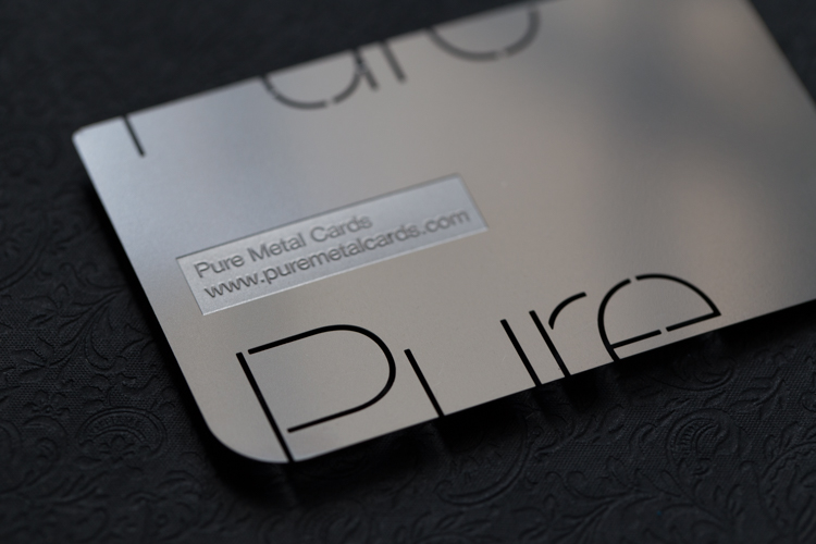 Shine with silver cards pure metal cards business cards colourmoves