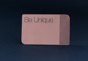 Pure Metal Cards copper member card