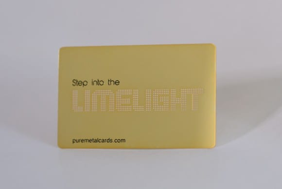 Brass (Gold) Mirror Cards