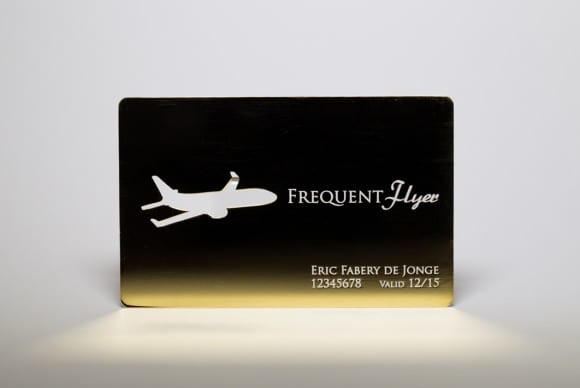 Gold Plated Stainless Steel Cards