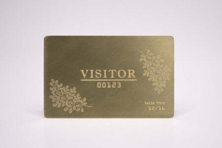 Brass Gold Cards