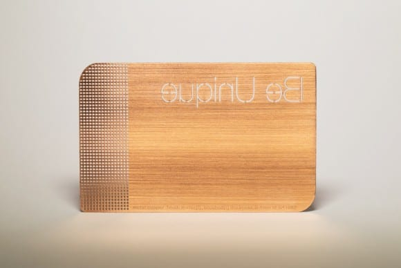 Copper Brushed Cards