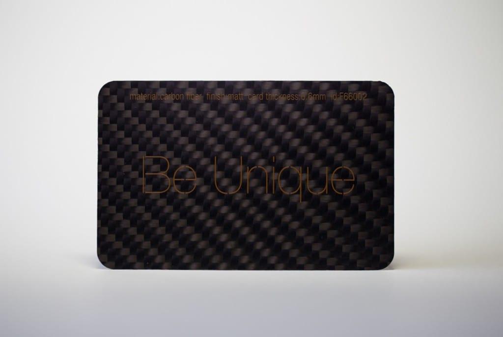 Glass Fiber - Red - Business Cards