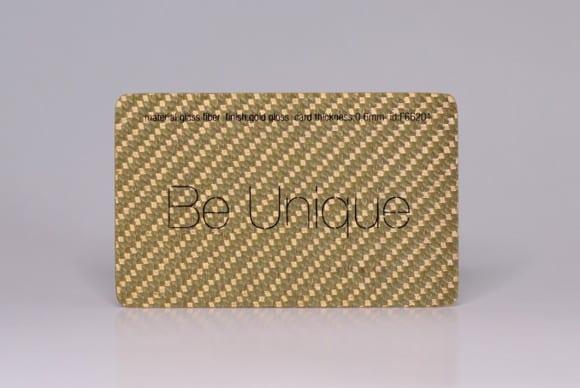Gold Glass Fiber Cards
