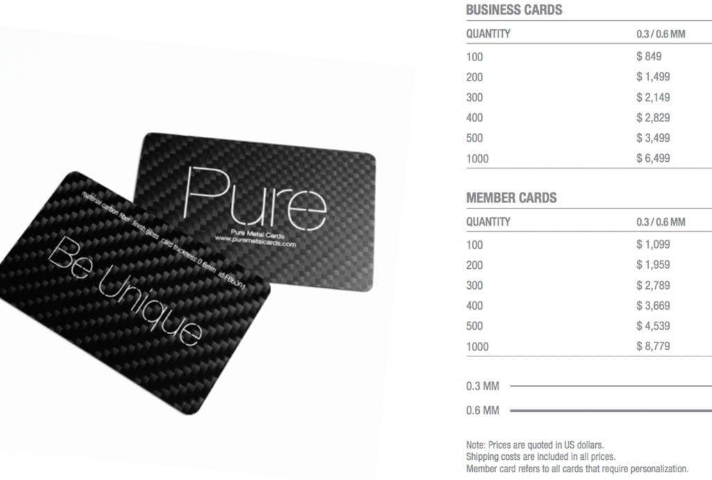 Silver Glass Fiber Cards