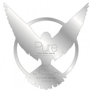 Pure-Metal-Cards-Stainless-Steel-Event-Invitation-Card-Bird
