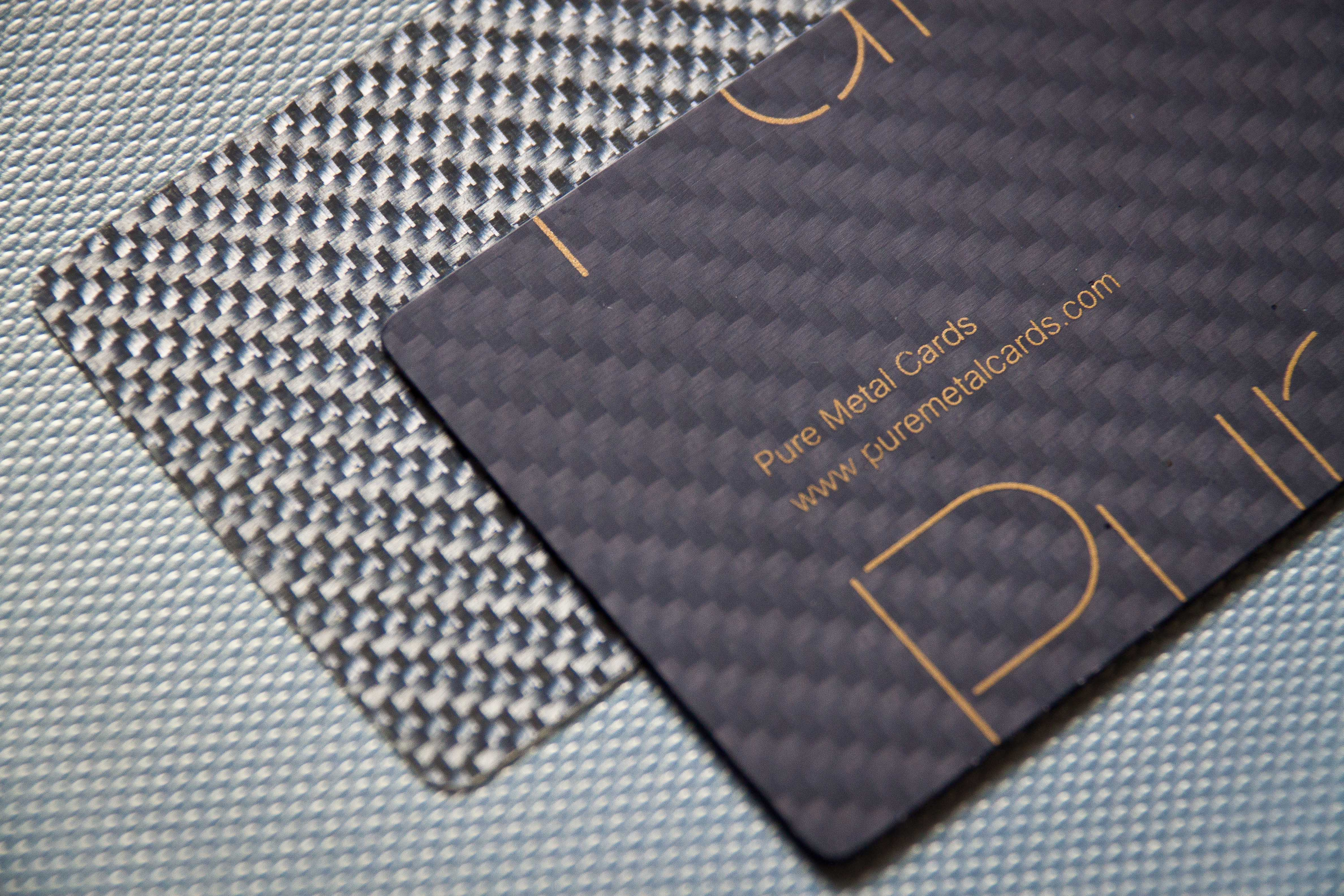 carbon fiber business cards archives  pure metal cards