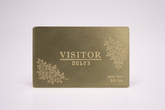 Standard Brass (Gold) Cards