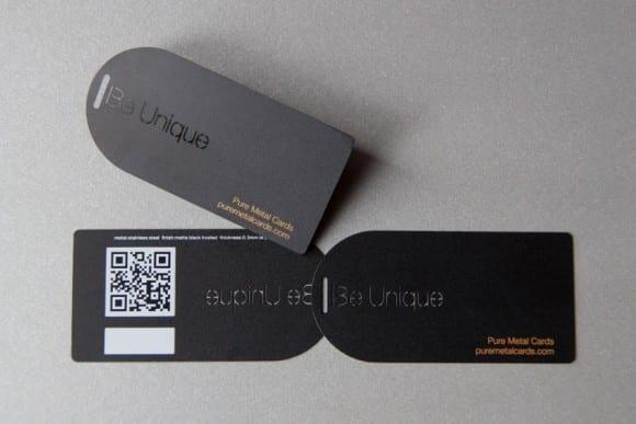 Pure Metal Cards Metal Hang Tag and Price Tag