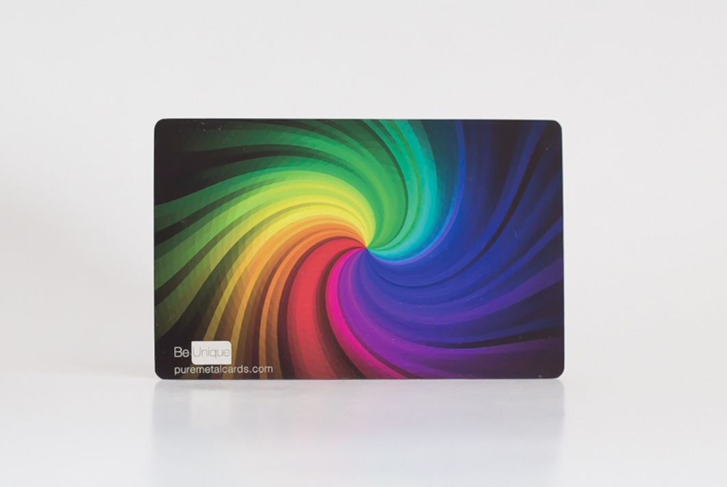 Stainless Steel Full Color Business Cards
