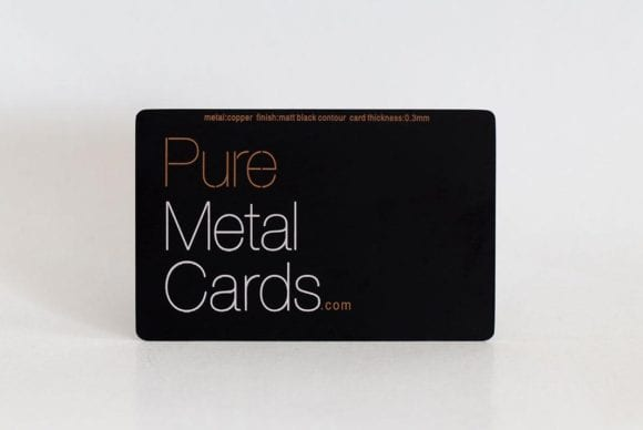 Pure_Metal_Cards_matt_black_contour_copper_card_IMG_8875