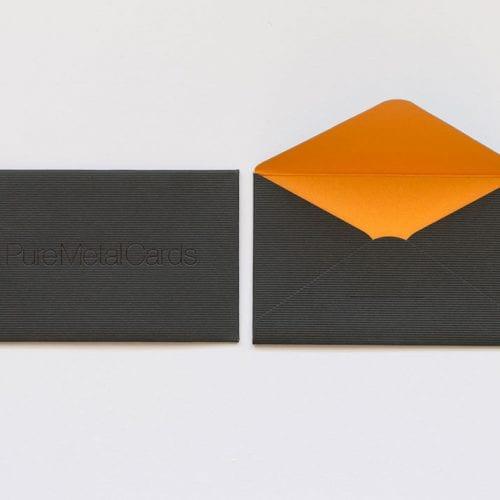 Pure Metal Card Luxury Envelop