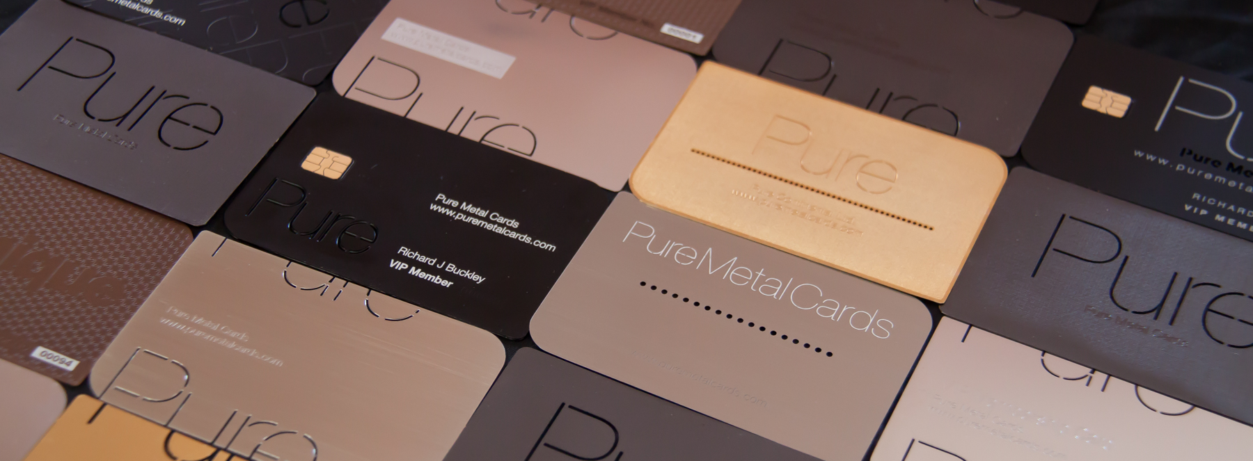 Designing Your Ideal (Metal) Business Cards | PURE METAL CARDS