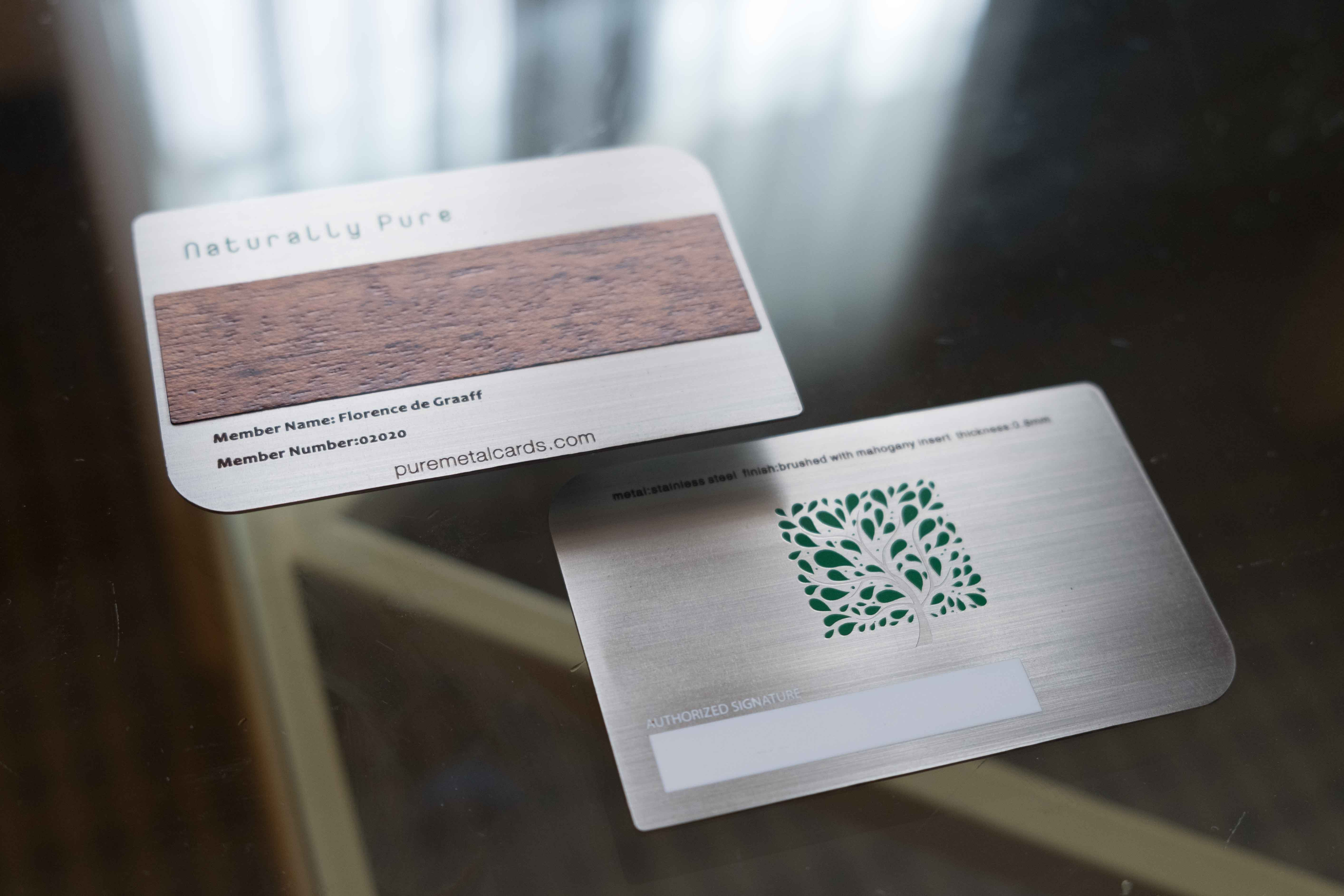 business cards Archives | PURE METAL CARDS