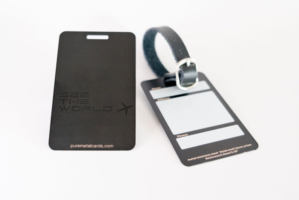 pure_metal_cards_metal luggage tags