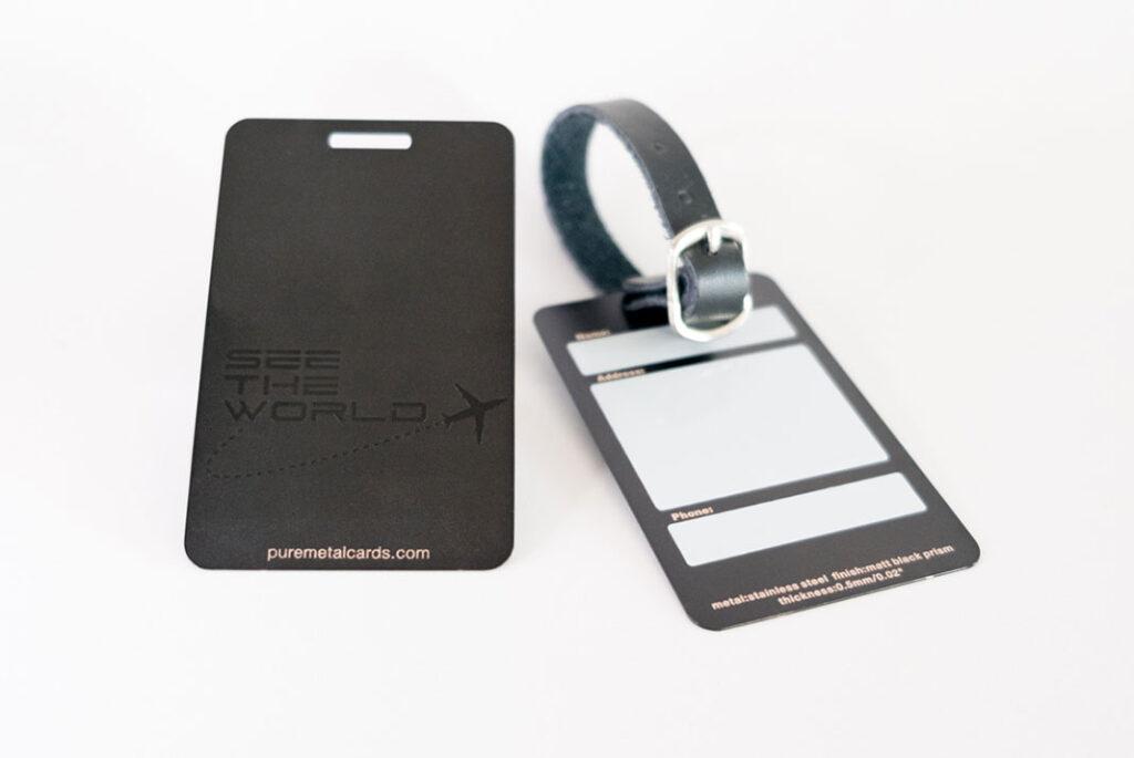 pure_metal_cards_metal luggage tags
