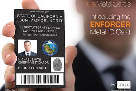 Metal ID Badges