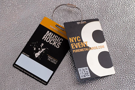 Metal Invites & VIP Passes