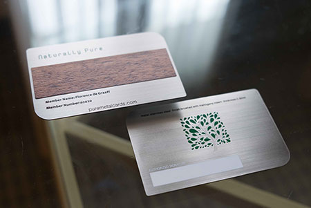 Wood Cards