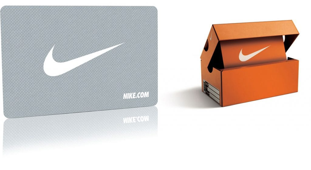 PureMetalCards Nike metal gift card