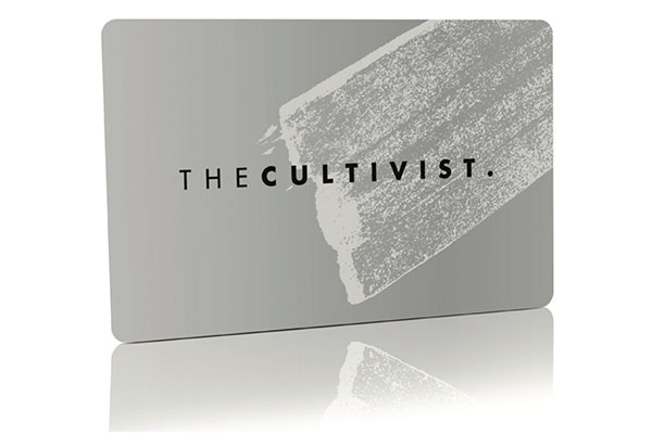 The Cultivist Metal Membership Card by Pure Metal Cards