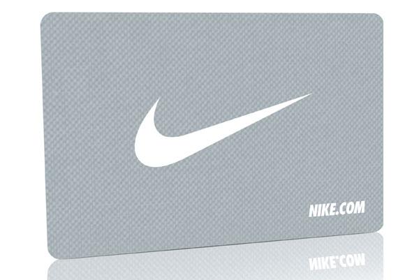 Nike Metal Gift Card