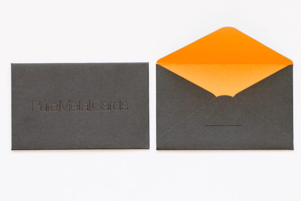 Pure Metal Cards card envelope