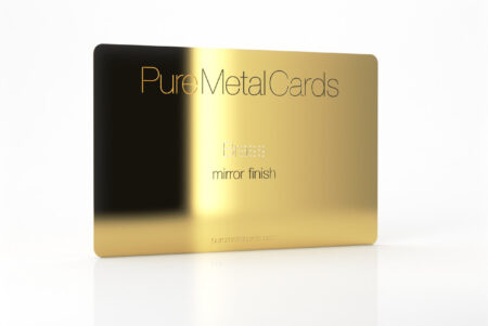 Brass Gold Cards