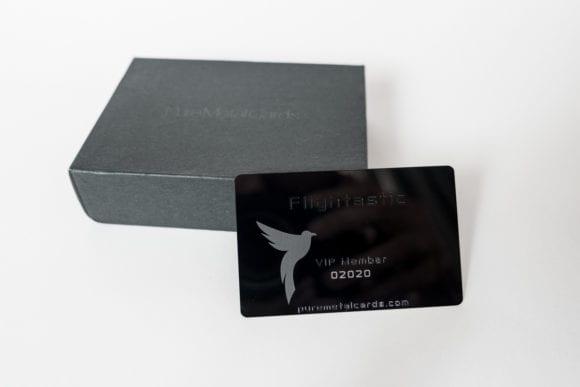 Pure Metal Cards black mirror card