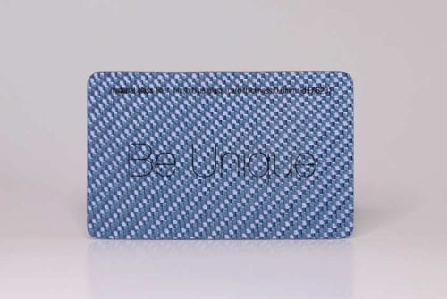 Blue Glass Fiber Cards