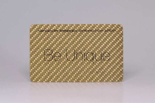 Gold Glass Fiber Cards