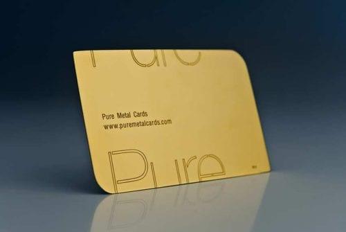 Precious Gold Cards