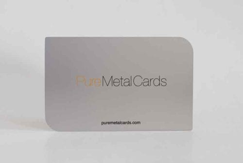 Standard Stainless Steel Cards