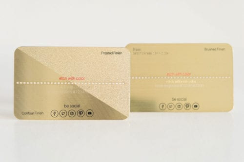 Brass (Gold) Card