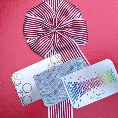 Pure Metal stainless steel sampler metal cards