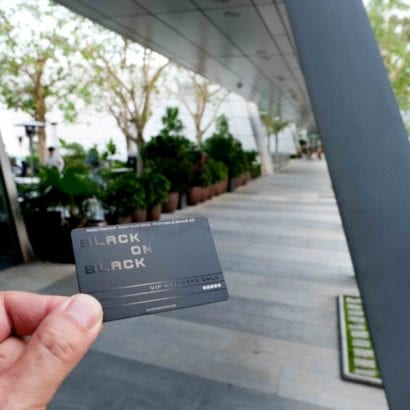 Pure Metal Cards black titanium metal VIP member card