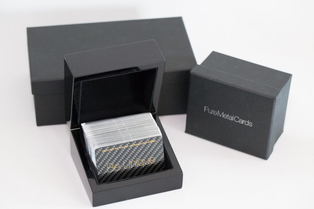 Luxury Packaging Portfolio for Metal Cards