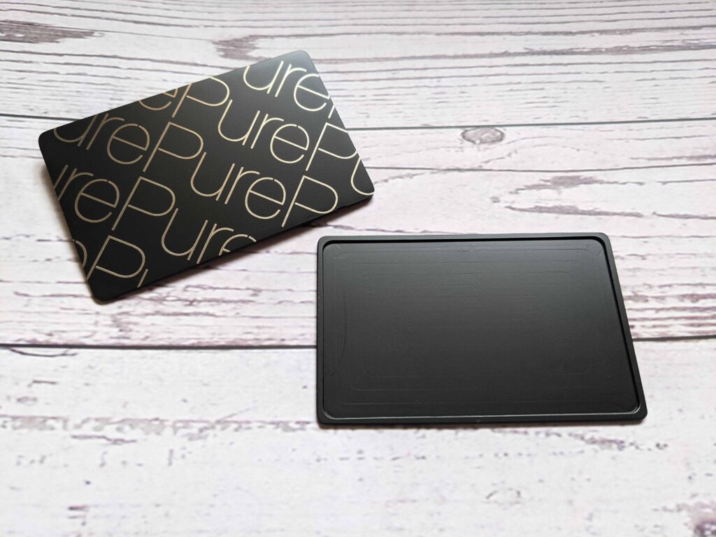 Pure Metal Cards - be unique with metal nfc cards